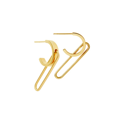 Shop the RUIFIER Nexus Levitate Hoop Earrings