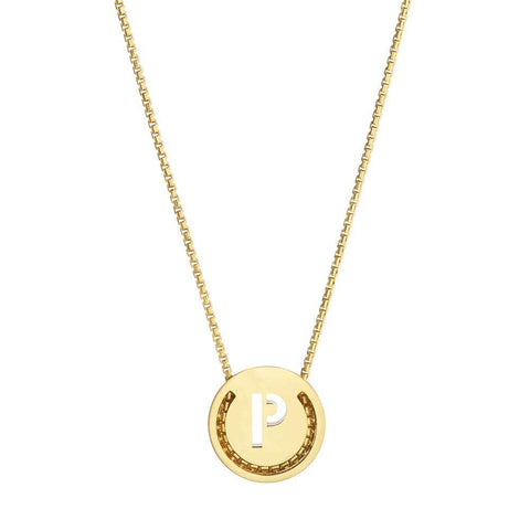 ABC's Necklace - P - RUIFIER