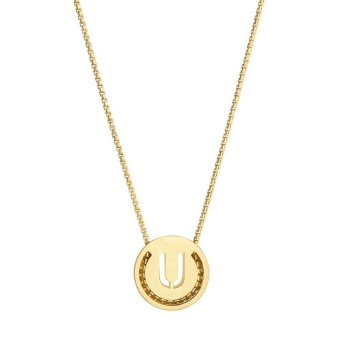 ABC's Necklace - U - RUIFIER