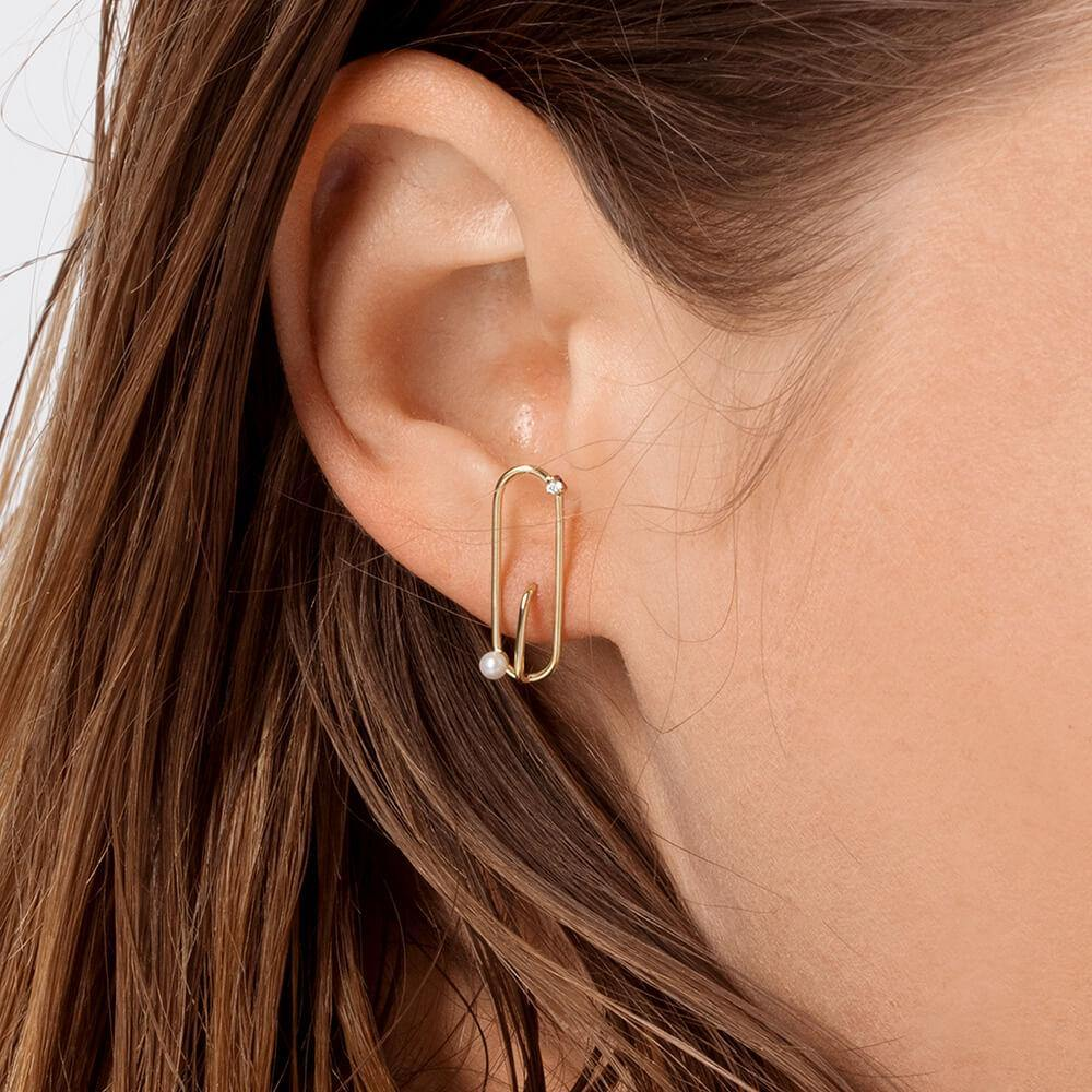 Astra Satellite Earrings
