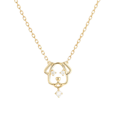 Scintilla Year of the Dog Necklace - RUIFIER