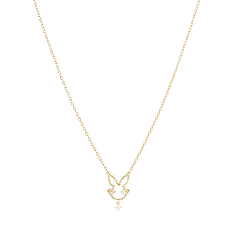 1HOME1 Scintilla Year of the Rabbit Necklace - RUIFIER
