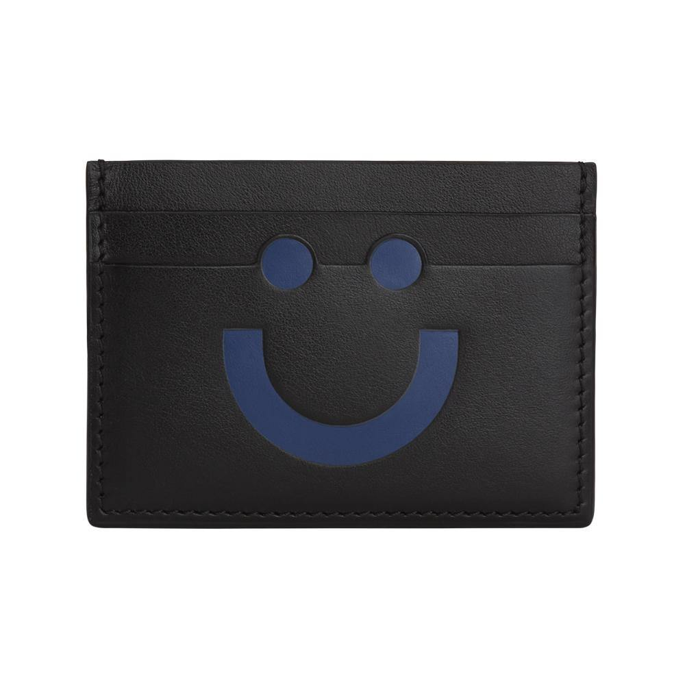 Happy Card Holder Black/Blue
