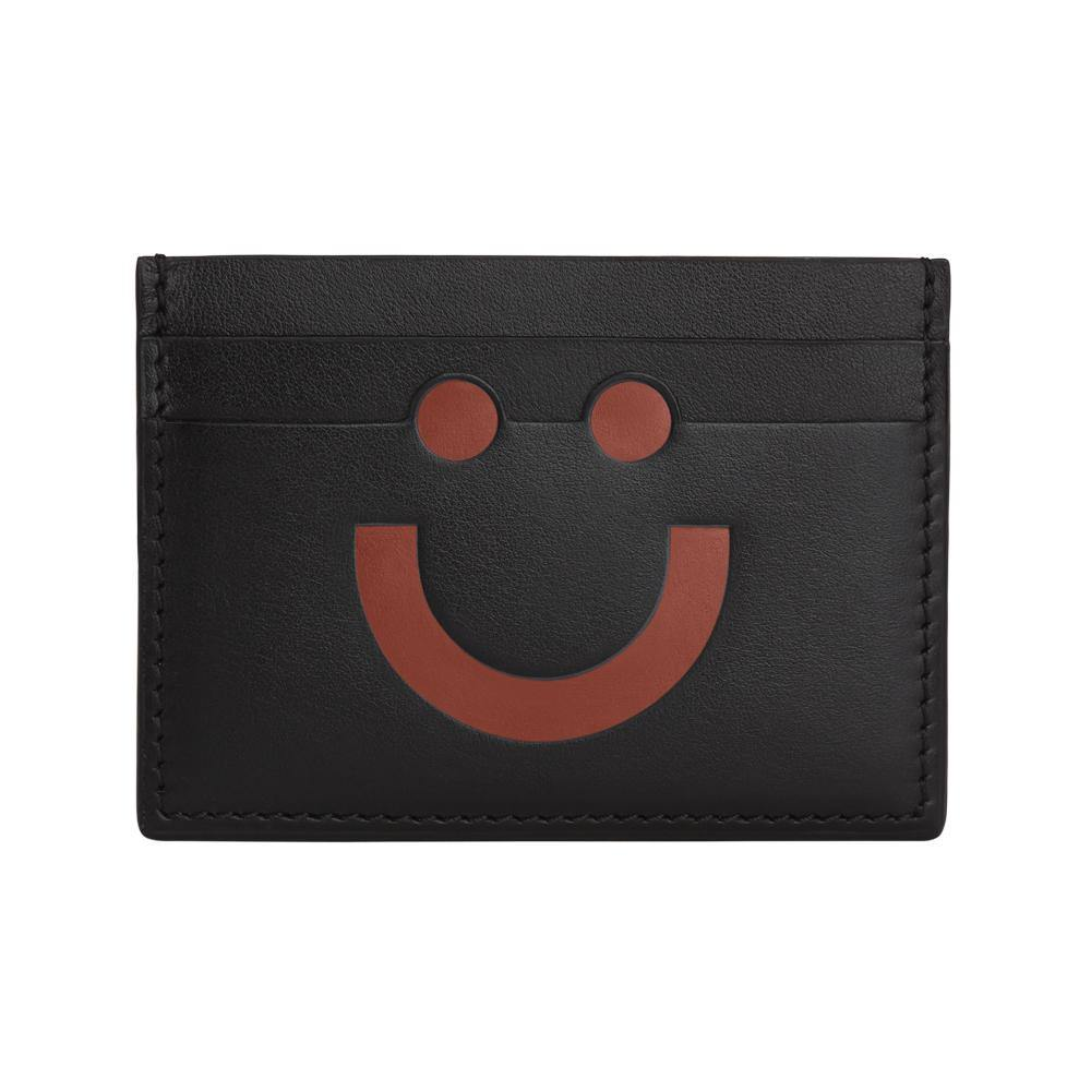 Happy Card Holder Black/Orange