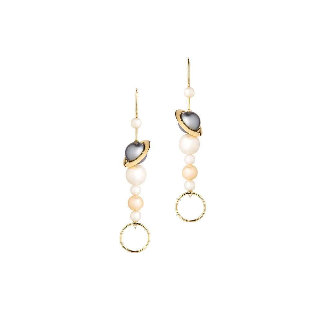 Cosmo Axis Earrings - RUIFIER