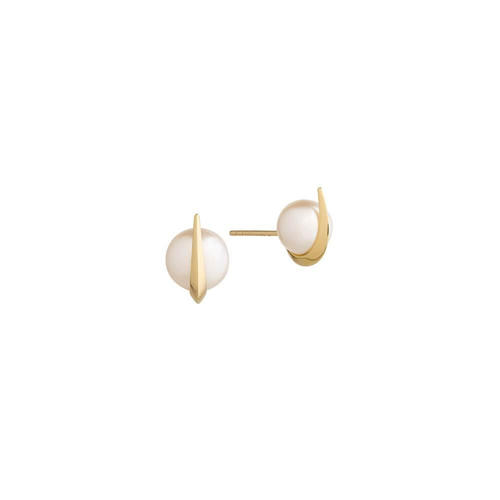 Cosmo Saturn Stud Earrings - RUIFIER