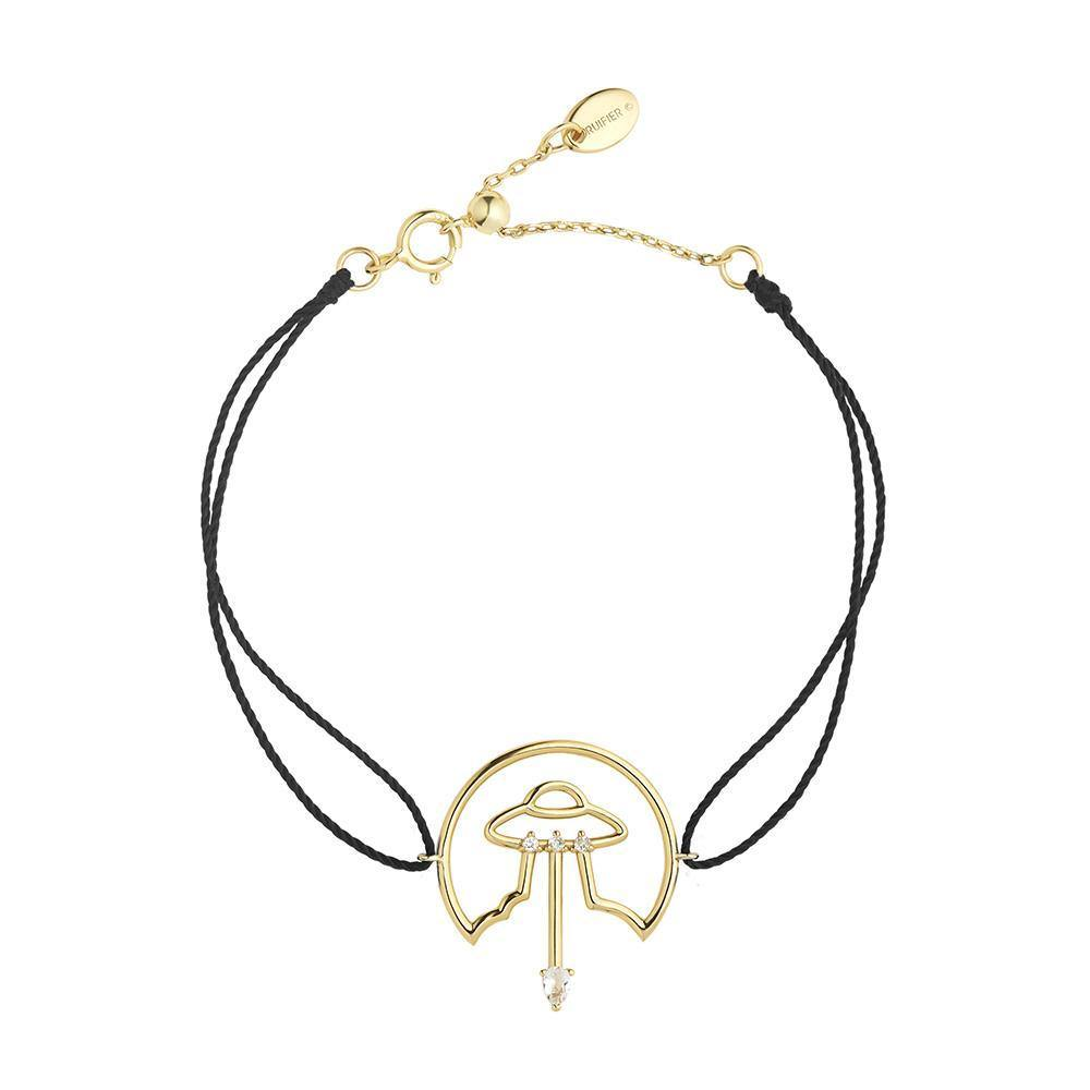 Cosmo Spaceship Cord Bracelet - RUIFIER