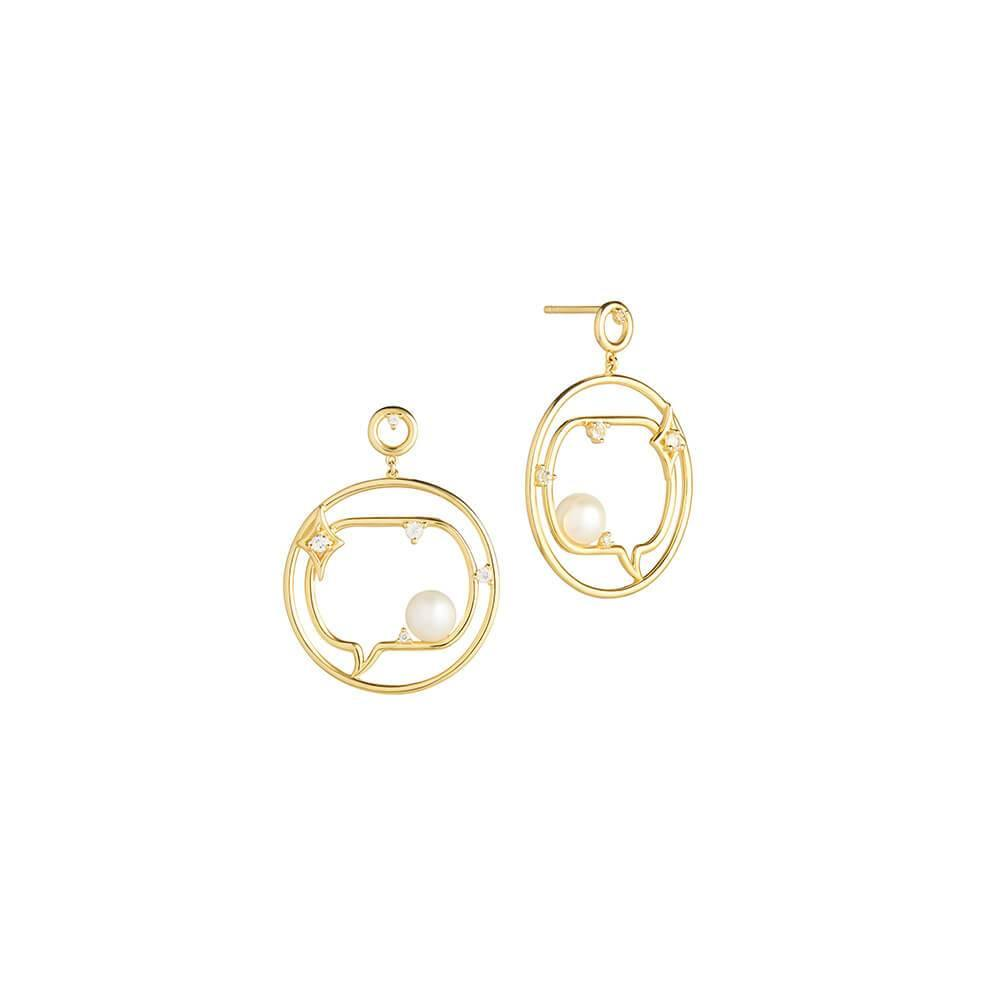 Cosmo Spaceman Earrings