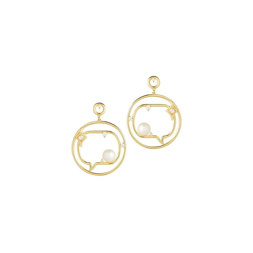 Cosmo Spaceman Earrings - RUIFIER
