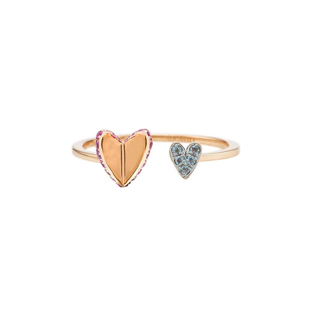 ELEMENTS Flutter Heart Ring