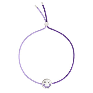 FRIENDS Turn Me Over Bracelet Lilac & Purple