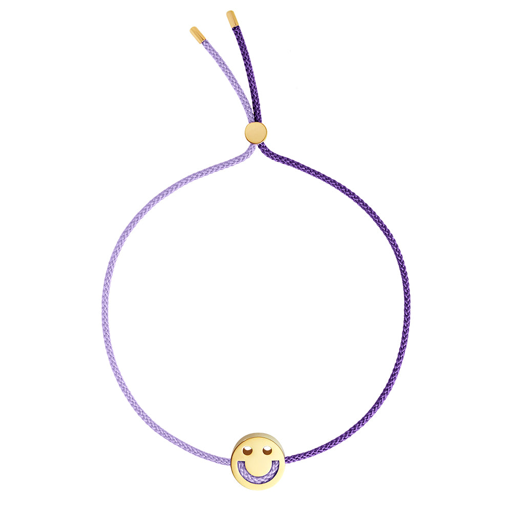 1HOME1 Friends Turn Me Over Bracelet Lilac & Purple - RUIFIER
