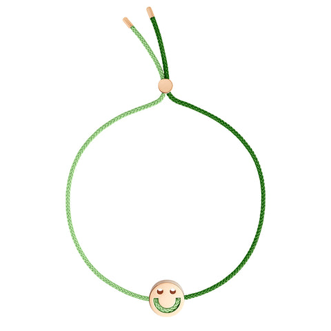 FRIENDS Turn Me Over Bracelet Moss Green & Green