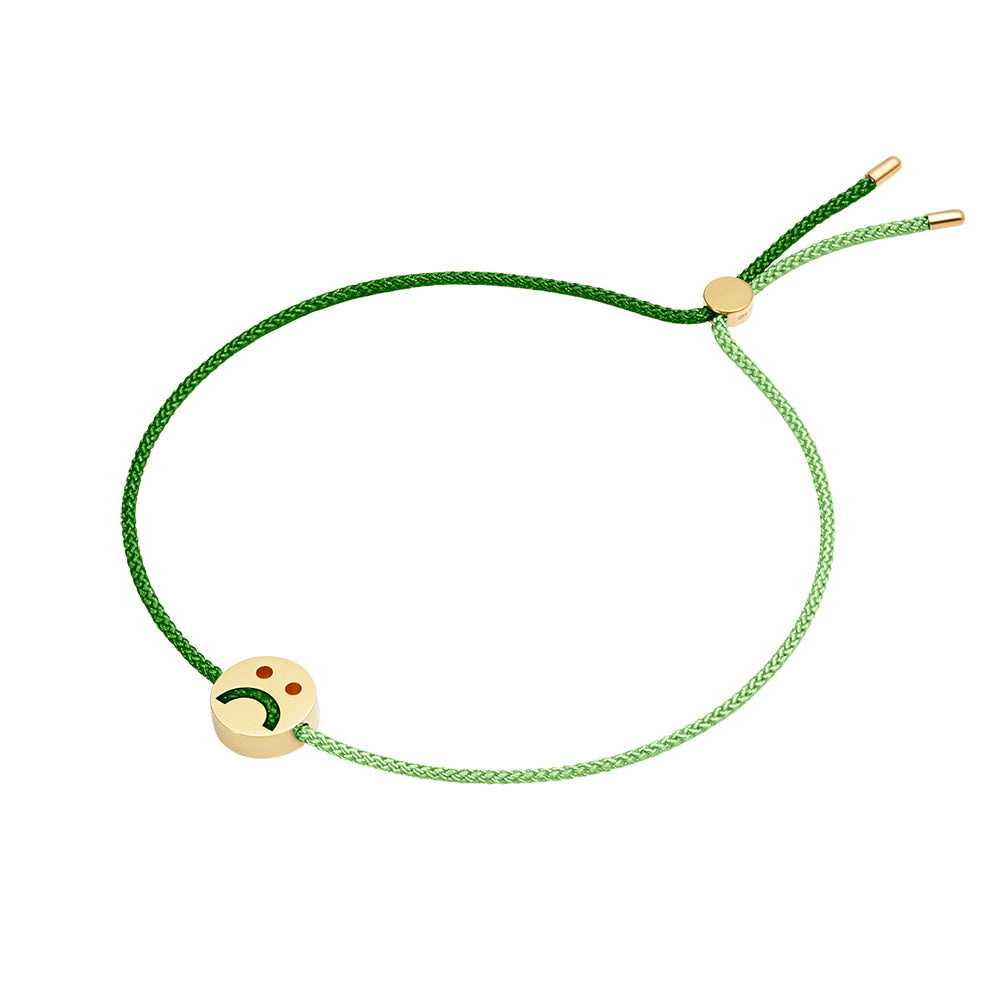 1HOME1 Friends Turn Me Over Bracelet Moss Green & Green - RUIFIER