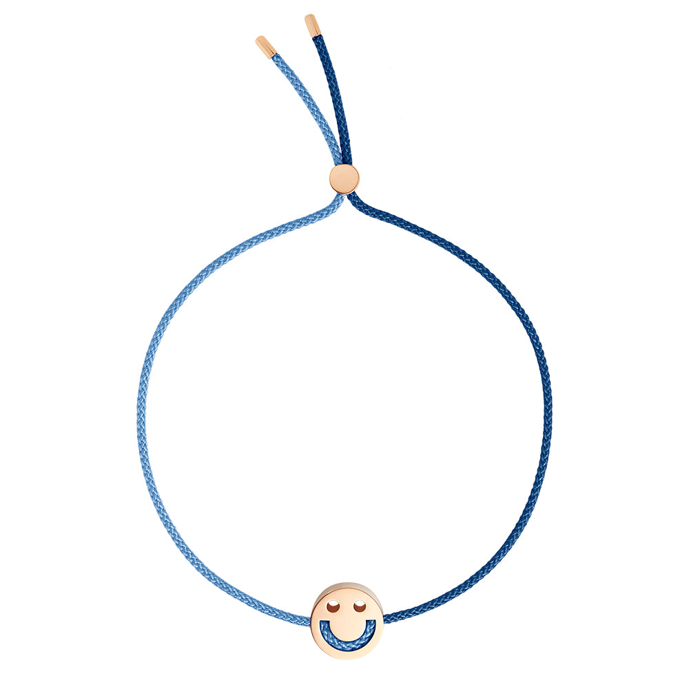 FRIENDS Turn Me Over Bracelet Navy & Dusky Blue