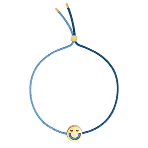 1HOME1 Friends Turn Me Over Bracelet Navy & Dusky Blue - RUIFIER