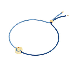 Friends Turn Me Over Bracelet Navy & Dusky Blue - RUIFIER