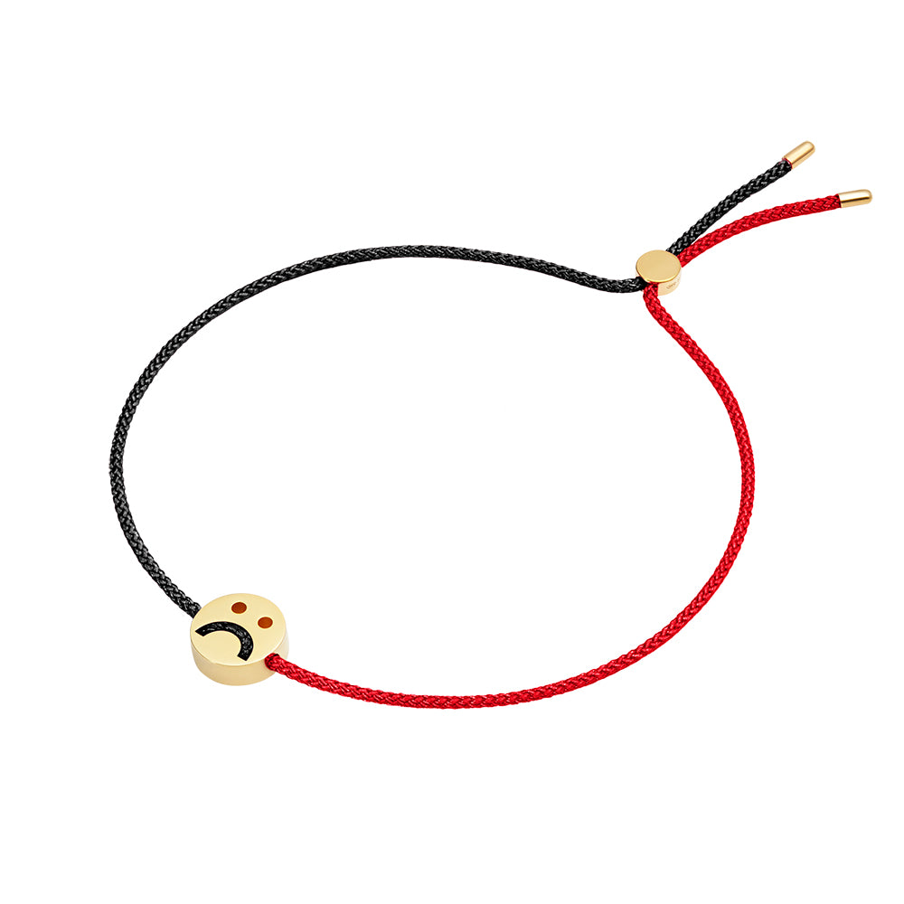 1HOME1 Friends Turn Me Over Bracelet Red & Black - RUIFIER