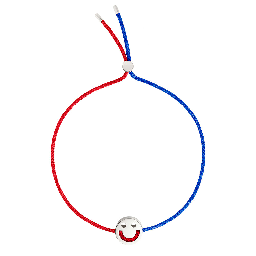 FRIENDS Turn Me Over Bracelet Red & Blue