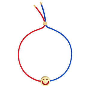 1HOME1 Friends Turn Me Over Bracelet Red & Blue - RUIFIER