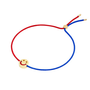 Friends Turn Me Over Bracelet Red & Blue - RUIFIER