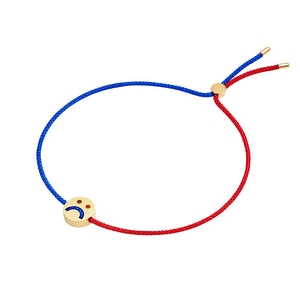 HOME2 Friends Turn Me Over Bracelet Red & Blue - RUIFIER