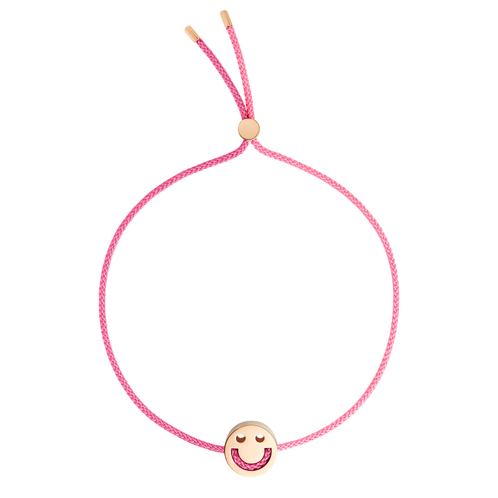 FRIENDS Turn Me Over Bracelet Rose Pink & Pink