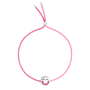 Friends Turn Me Over Bracelet Rose Pink & Pink - RUIFIER