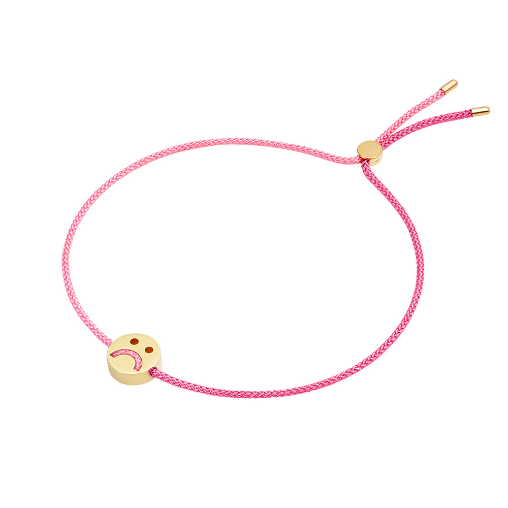 HOME2 Friends Turn Me Over Bracelet Rose Pink & Pink - RUIFIER