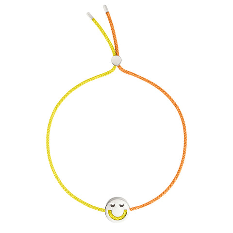 FRIENDS Turn Me Over Bracelet Yellow & Orange