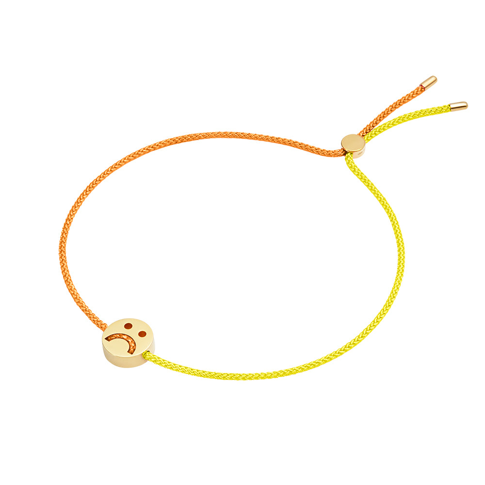 1HOME1 Friends Turn Me Over Bracelet Yellow & Orange - RUIFIER