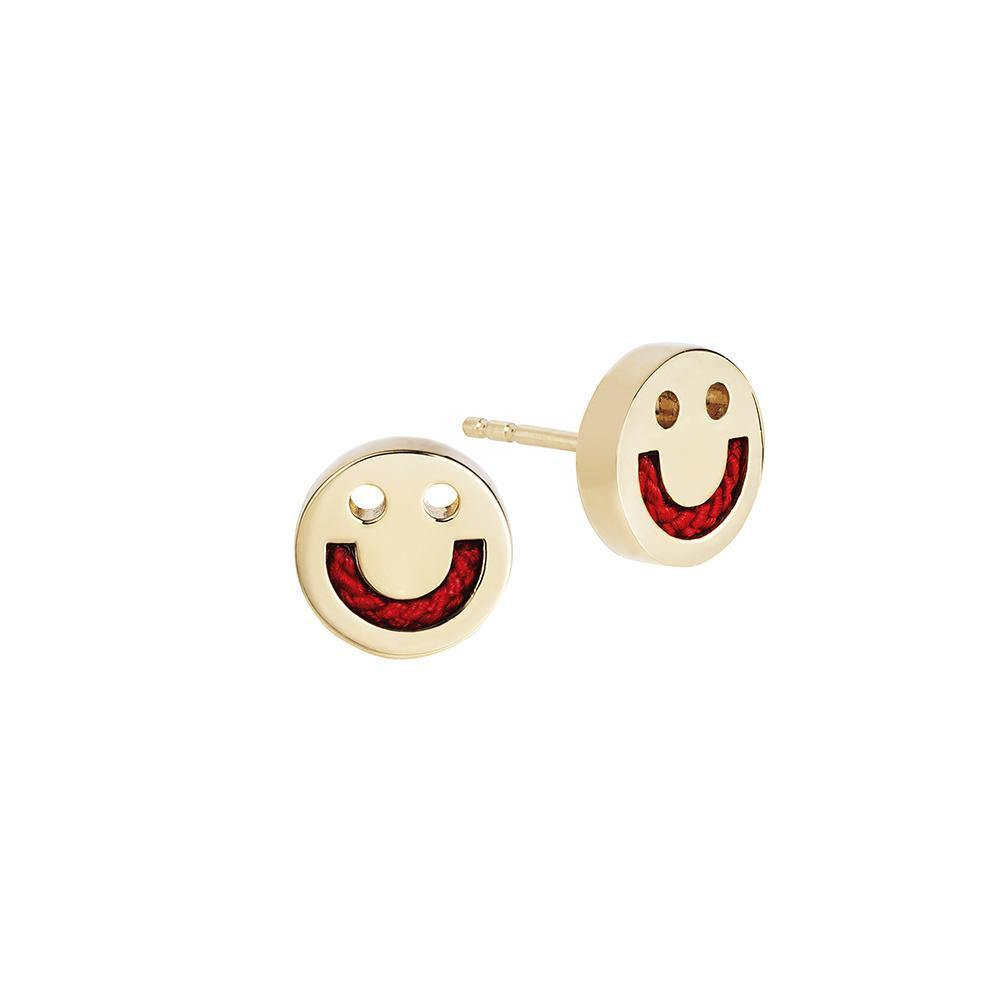 FRIENDS Happy Cord Studs - RUIFIER