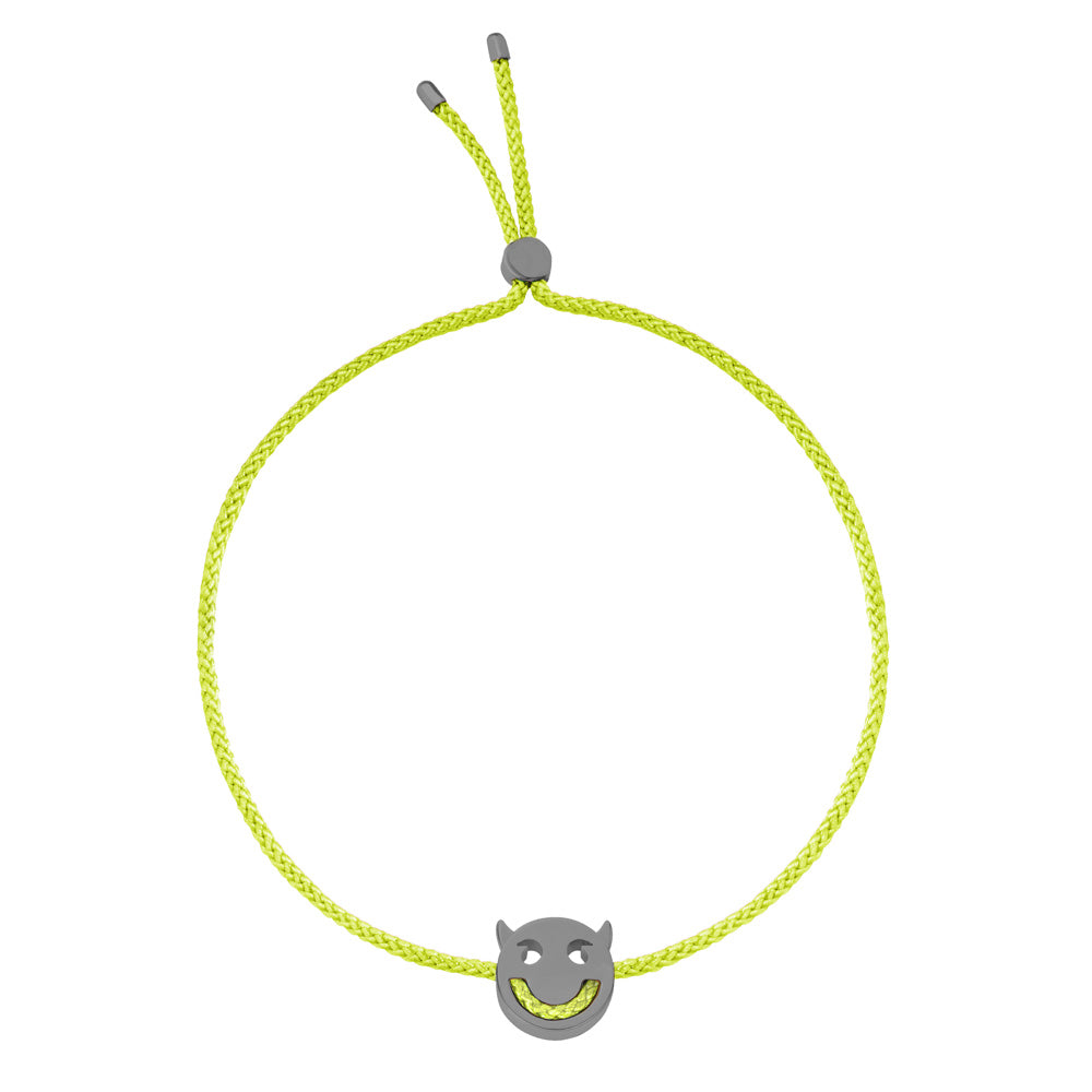 RUIFIER FRIENDS Wicked Bracelet Lime Green Black Rhodium