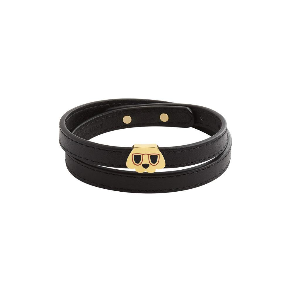 Furry Friends Whisky Wrap Bracelet/Choker Black