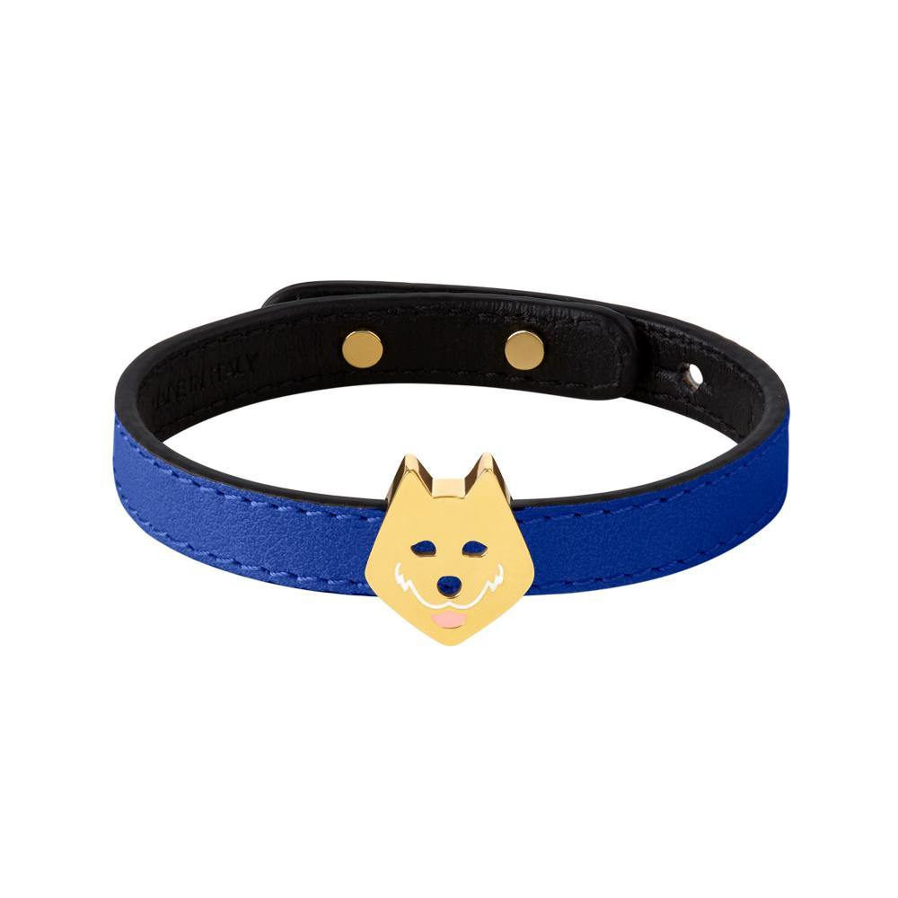 Furry Friends Taiki Bracelet Blue