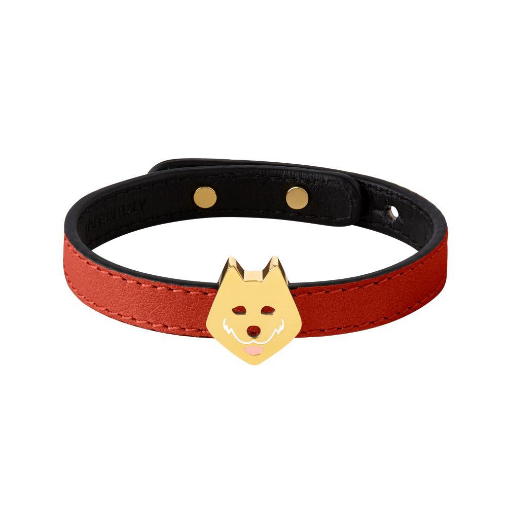 Furry Friends Taiki Bracelet Red