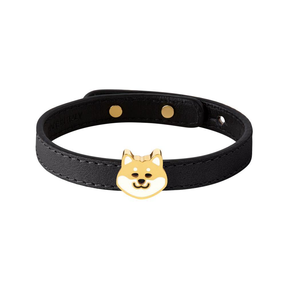 Furry Friends Teddy Bracelet Black