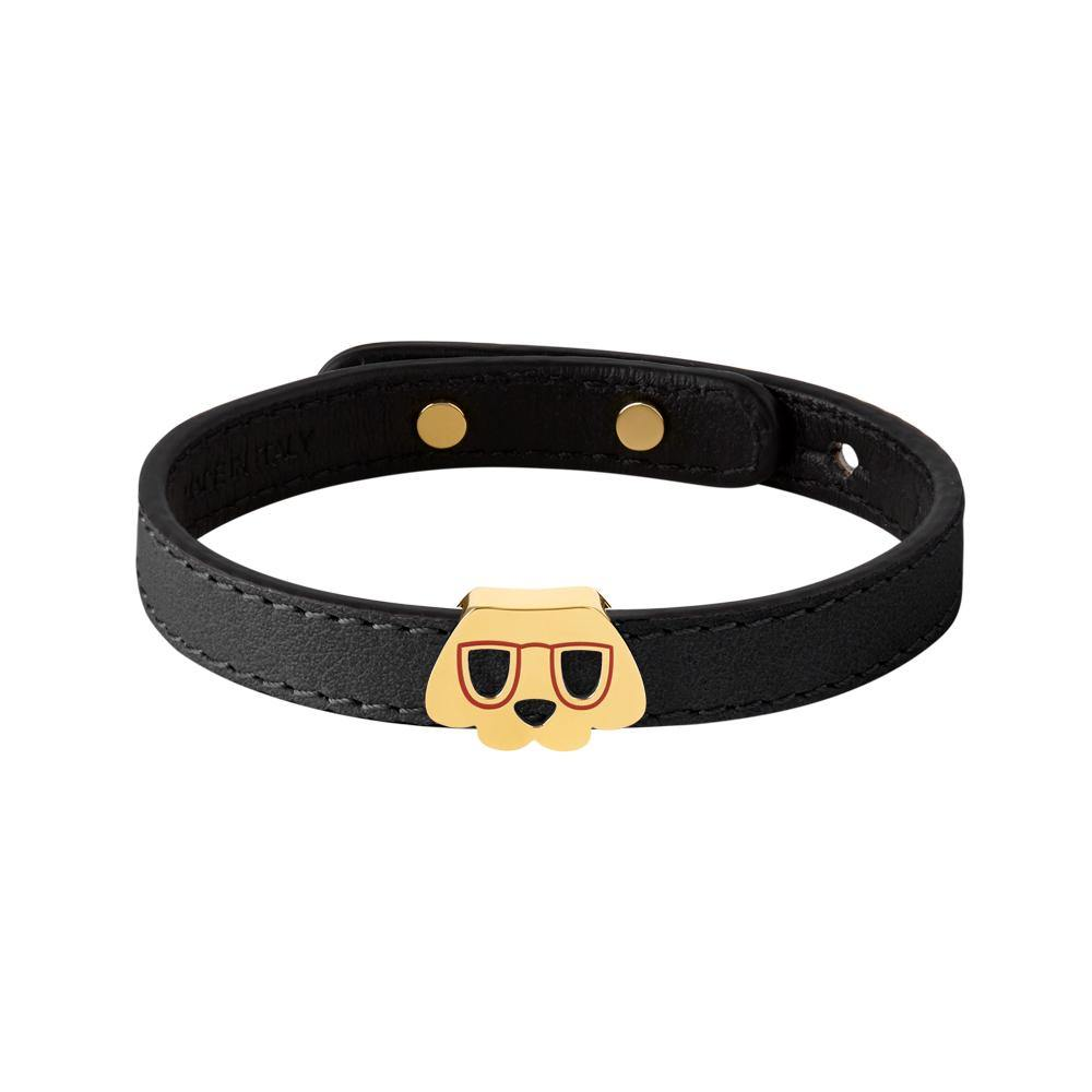 Furry Friends Whisky Bracelet Black