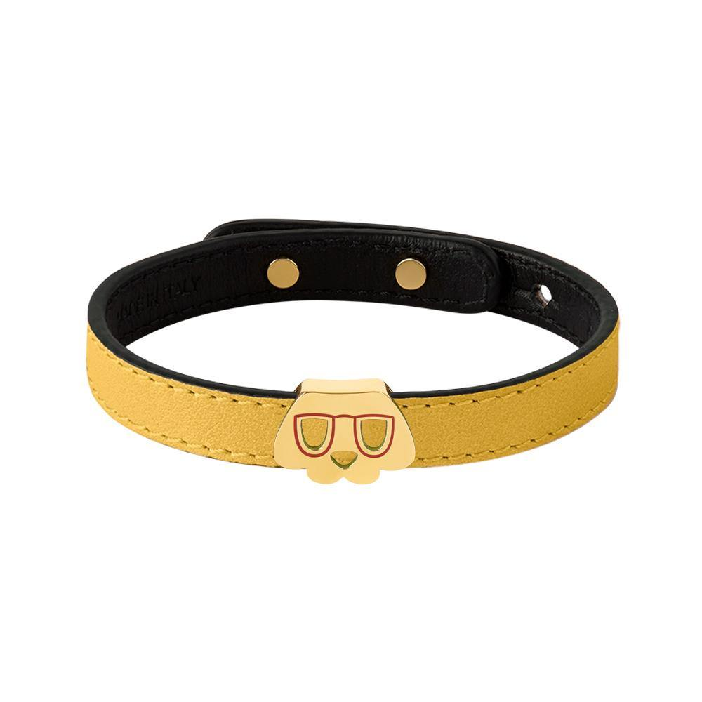 Furry Friends Whisky Bracelet Yellow