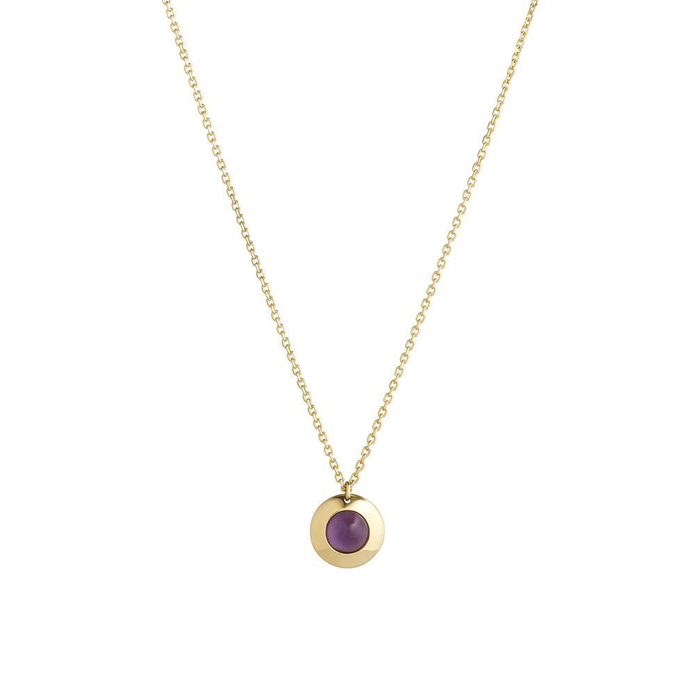 Gems of Cosmo Amethyst Necklace - RUIFIER