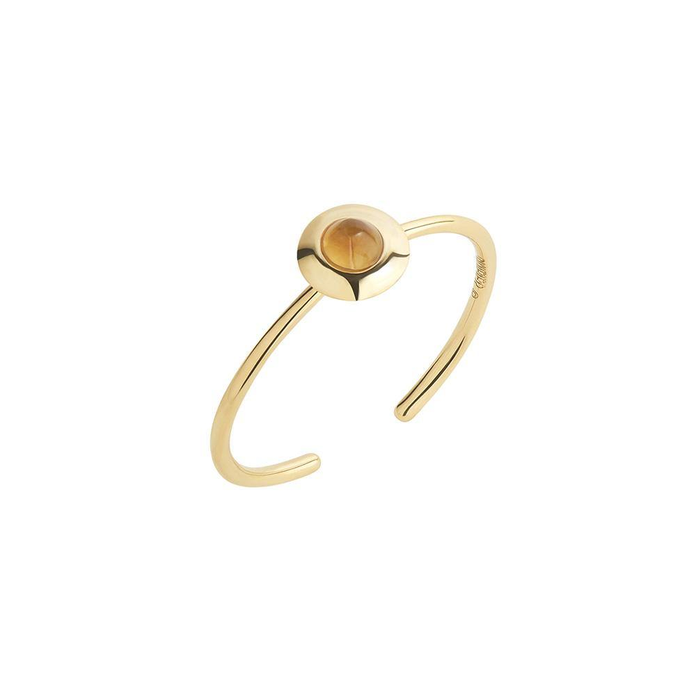 Gems of Cosmo Citrine Ring - RUIFIER