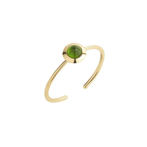 1HOME1 Gems of Cosmo Diopside Ring - RUIFIER