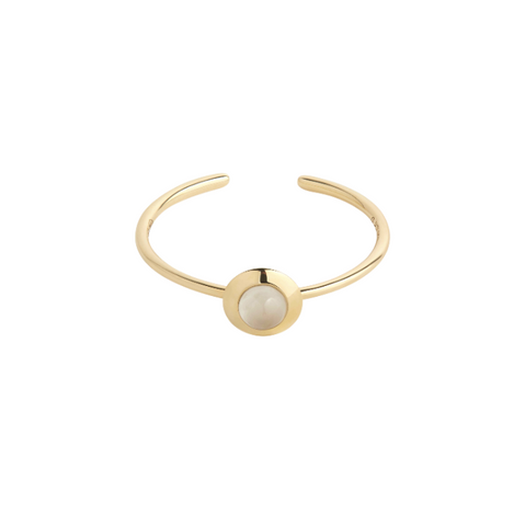 Gems of Cosmo Moonstone Ring - RUIFIER