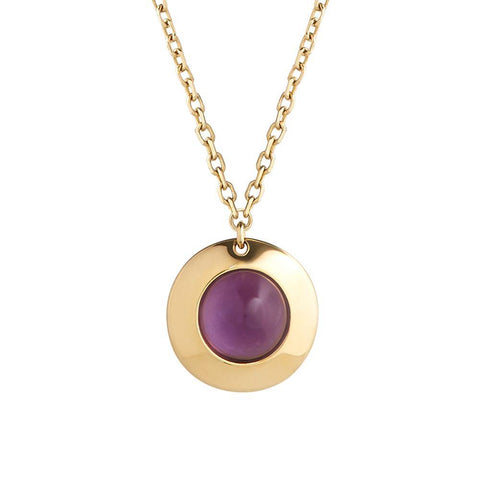 Gems of Cosmo Amethyst Necklace