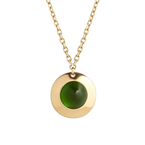Gems of Cosmo Diopside Necklace