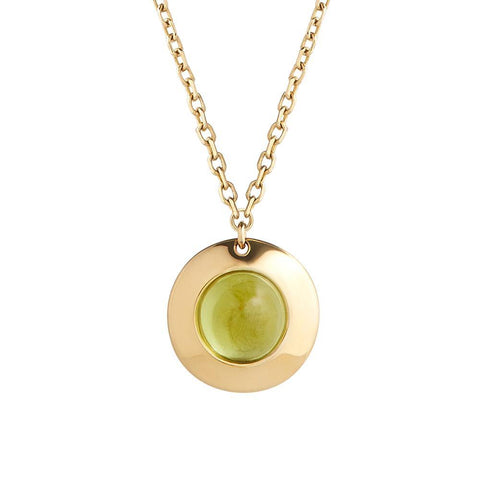 Gems of Cosmo Olivine Necklace