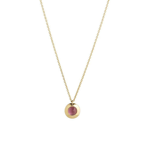 Gems of Cosmo Rubellite Necklace - RUIFIER