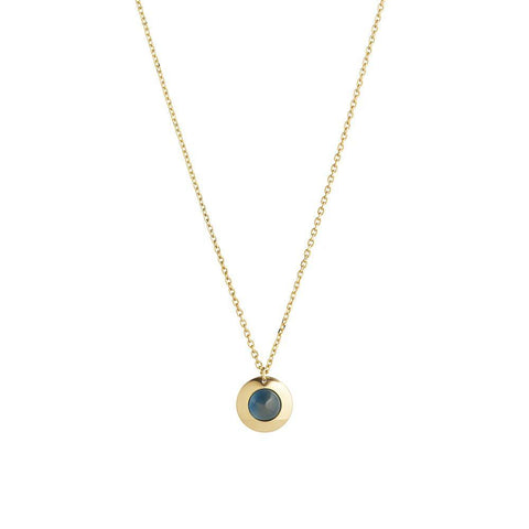 1HOME1 Gems of Cosmo Topaz Necklace - RUIFIER