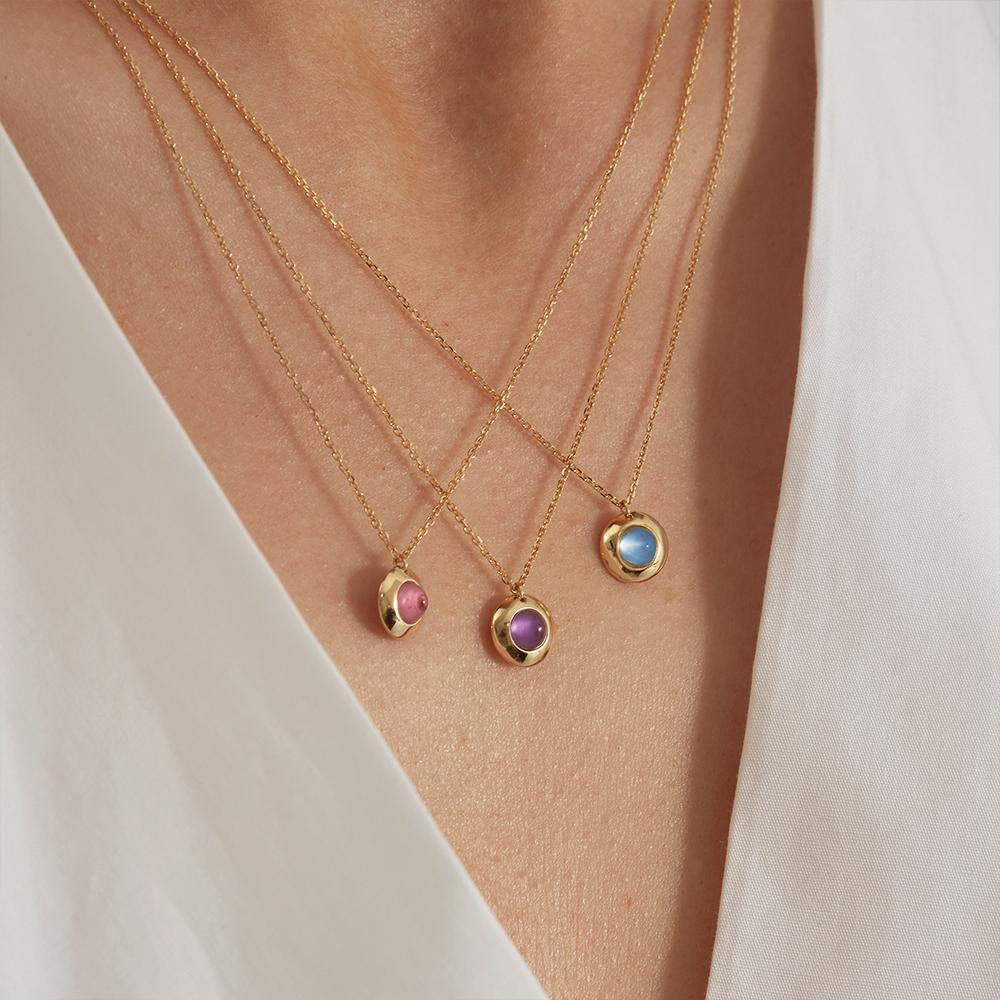 Gems of Cosmo Topaz Necklace - RUIFIER