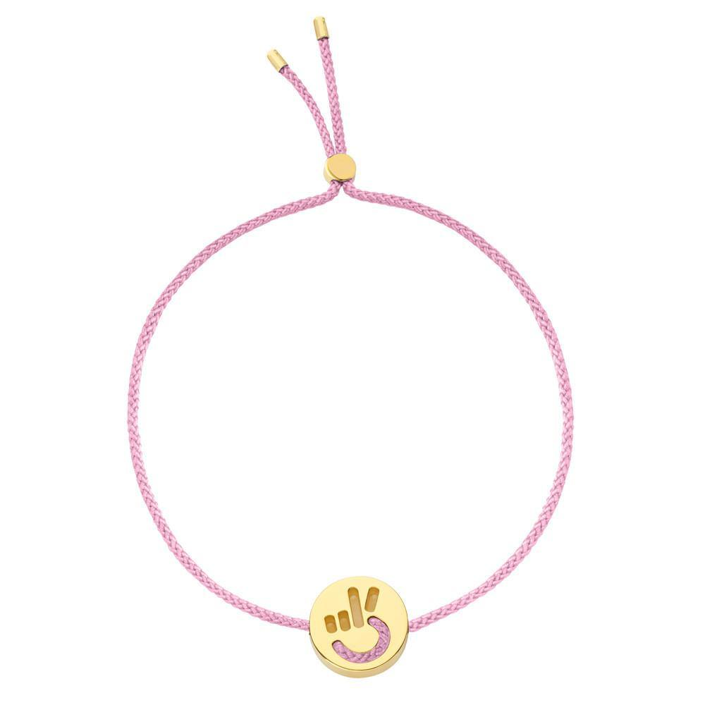 FRIENDS Hands Up Peace Bracelet